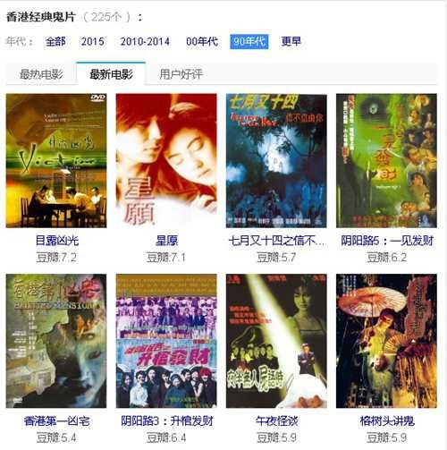 七月半鬼节相关的电影你看过哪些  七月半 鬼节 中元节 香港经典鬼片 恐怖片 第9张