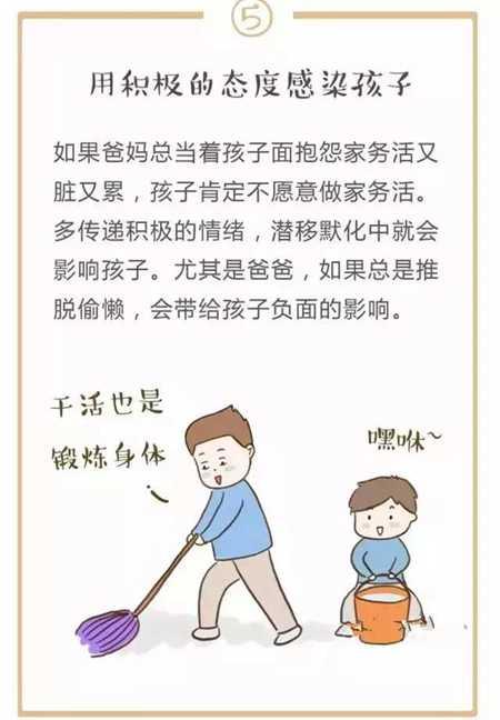 儿童做家务年龄对照表,宝爸宝妈对号入座吧!  教育 儿童 孩子 陪伴 家务 第12张