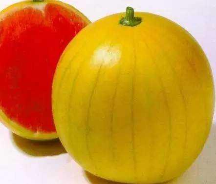 你可能不知道的几个比较有趣的西瓜品种  西瓜 三白西瓜 心形西瓜 方形西瓜 黄皮西瓜 黄瓤西瓜 第2张
