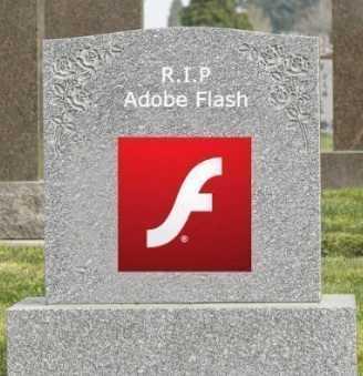 Adobe Flash正式被判死刑,缓刑3年,2020年行刑!