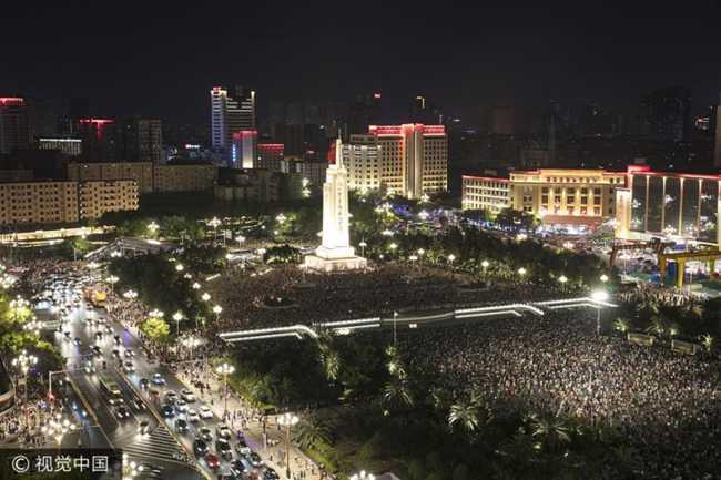 南昌八一广场改造设计与改造设计重新开放后对比  南昌 八一起义纪念广场 90周年 八一广场改造 第2张
