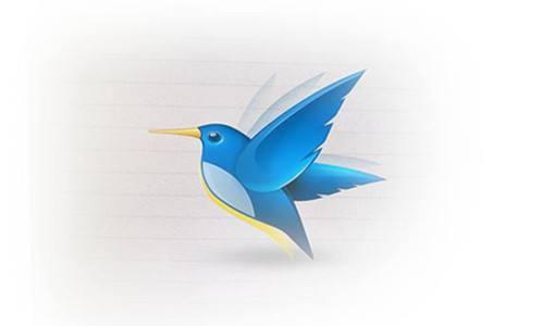 我与儿子共同完成的树叶贴画作品《两只鸟儿》  树叶贴画 两只鸟儿 亲子教育 手工制作 艺术欣赏 第3张