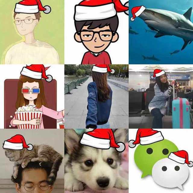 朋友圈求微信官方送圣诞帽纯属谣言