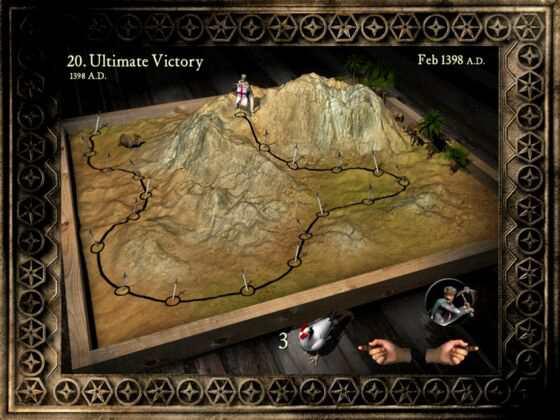 十字军东征增强版第19关和20关速攻攻略