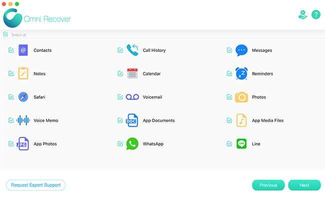 推荐款苹果手机恢复软件:可恢复照片、短信、通讯录、备忘录等
