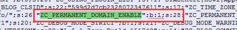ZBlog固定网站域名开启导致网站打不开的解决办法  zblog后台 固定网站域名 打不开网站 数据库修改 第4张