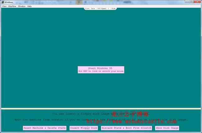 可以直接在现在电脑系统(windows、linux、macOS)里运行的Windows 95  第2张